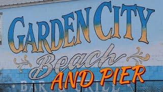 GARDEN CITY, SC | POV - walk around the Streets, Marsh, and Pier!!