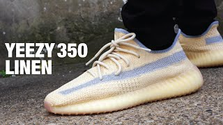 Adidas YEEZY Boost 350 V2 LINEN Review & On Feet