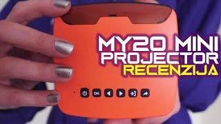 MY20 Mini Projector recenzija - kompaktan, lako prenosiv i jeftin (20.02.2019)