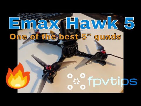 Emax Hawk 5 - Review, Radio and Betaflight Setup, Test flights