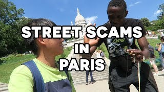 Street scams in Paris - Willy Lee