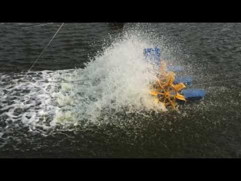 2 HP Nanrong  Paddle Wheel Aerator