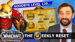 The Massive New BfA XP Nerf, How The Level Squish Will Work & Vulpera Allied Race For You! WoW News