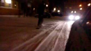 preview picture of video 'Street Snowboarding in der Kyritzer Innenstadt.MP4'