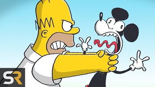15 Times The Simpsons Dissed Disney