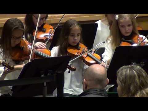 PAMS Chamber Strings & Women's Chorus at PAMS Winter Orchestra Concert (4 Dec 2019)