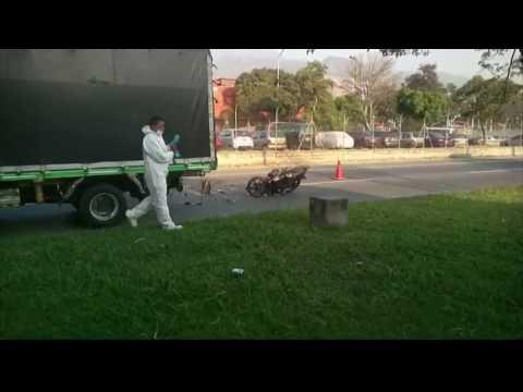 Mujer fallecio en accidente de transito cerca a la Terminal del Norte [Noticias] - TeleMedellin