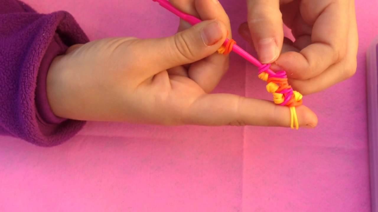 ¿Como hacer una flor con gomas?