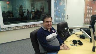 Саакашвили: Чтобы побороть коррупцию, Порошенко нужно посадить трех своих друзей