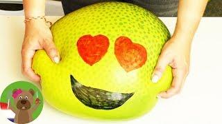 DIY GIGANTISCHE Emoji-stressbal 😍 Leuk Orbeez-experiment | Fun Video