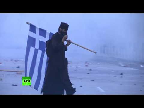 Violentas manifestaciones en Grecia contra la propuesta de cambiar el nombre de Macedonia