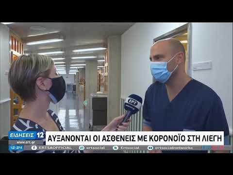 Covid19 | Σε κατάσταση συναγερμού τα νοσοκομεία της Λιέγης | 4/11/20 | ΕΡΤ