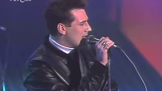 "Spandau Ballet ""Hoy Many Lies"" ""Cross the Line"" Sábado Noche(Spain) 11-04-87"