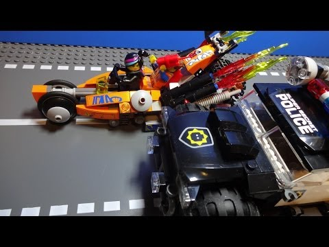 Vidéo LEGO The LEGO Movie 70808 : La super poursuite
