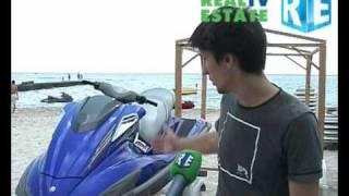 Летний отдых на море: прокат гидроциклов, катеров.