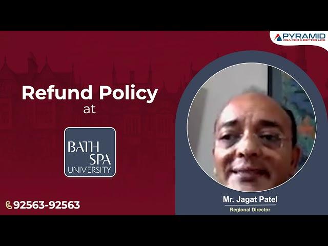 Refund Policy at Bath Spa University - UK