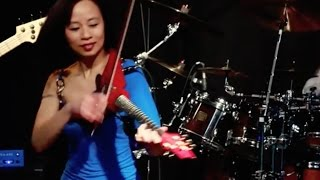 "Violet Fusion feat. Victoria Yeh performs ""The Rain Must Fall"" by Yanni"