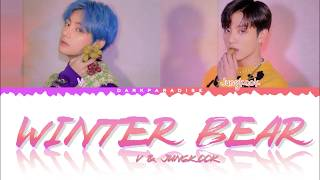 V & Jungkook   Winter Bear (Color Coded Lyrics)
