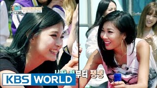 Meeting a senior girlgroup [Sister's SlamDunk/2016.08.12]