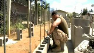 Marines Construct New Classroom for Technical School