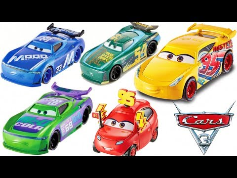 New Disney Cars 3 Diecasts Next Gen Piston Cup Racers Mood Springs N20 Cola Thunder Hollow Rusteze