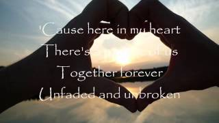 here in my heart by plus one w/ lyrics