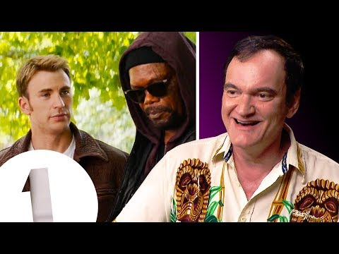 Quentin Tarantino on 'appearing' in The Avengers, Team America and Shrek
