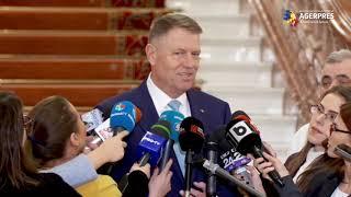 Preşedintele Klaus Iohannis - Declarații de presă