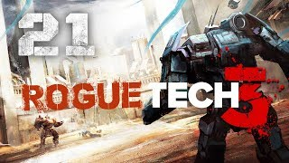 Outnumbered in Clan territory! ★ 3rd RogueTech Battletech 2018 Mod Playthrough #21