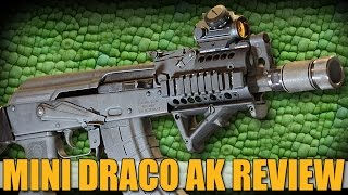 Gun Review Mini Draco AK47 Pistol With SB47 Brace From Century Arms