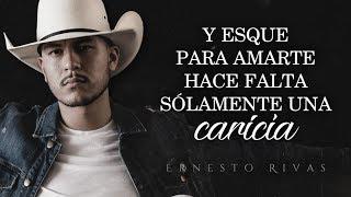 (LETRA) ¨PARA NO QUERERTE¨   Ernesto Rivas (Lyric Video)