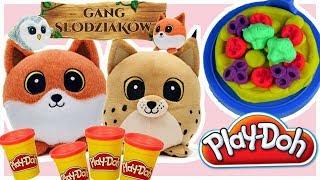 Play Doh & Gang Słodziaków • Lucek i Rysio w PIZZERII • bajki dla dzieci