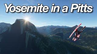 Flight Simulator 2020 - Yosemite in a Pitts