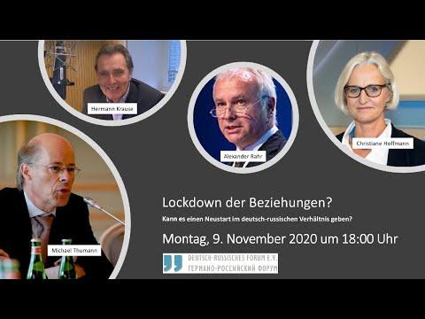 """""""Lockdown der Beziehungen"""": Kann es einen Neustart im deutsch-russischen Verhältnis geben?"""