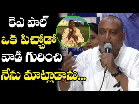 Comedian Prudhvi Raj Funny Comments on KA Paul | Ysrcp Press Meet | Top Telugu Media