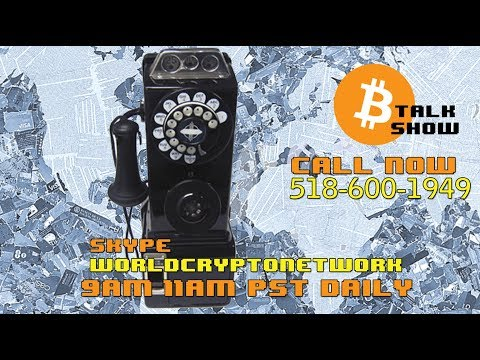 the Indomitable Bitcoin Talk Show #LIVE (Sep 17, 2018) - News Talk Price Opinion with your Calls