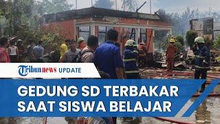 Kronologi Gedung SD di Riau Terbakar saat KBM Tatap Muka Berlangsung, Guru Langsung Selamatkan Murid