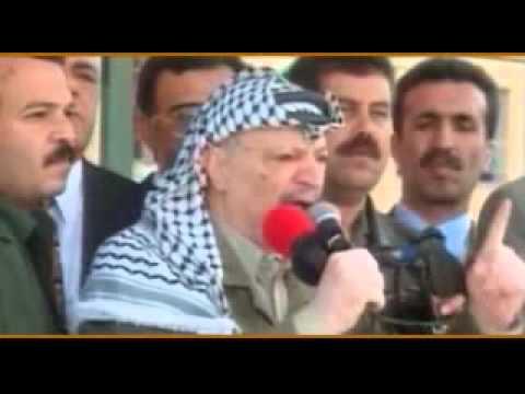فيلم القضية ياسر عرفات - انتاج مؤسسة دعم فلسطين الدولية