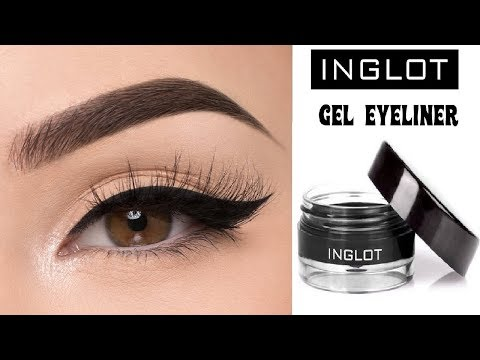 INGLOT AMC Eyeliner Gel 77 Black – First Impressions, Review And Swatches
