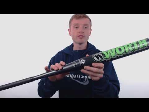 2017 Worth Wicked XL Senior Slow Pitch Softball Bat: WWKDXL