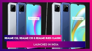 Realme C12, Realme C15 & Realme Buds Classic Launched in India, Prices, Features, Variants & Specs - Download this Video in MP3, M4A, WEBM, MP4, 3GP