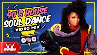 90s Dance House Soul is Not Dead Mix – Dj Shinski [Michael Jackson, Madonna, Black Box, Crystal Wat]
