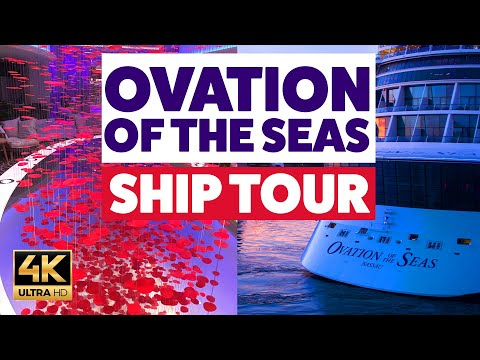 Ovation of the Seas tour 2018