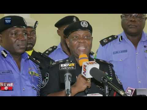Lagos Police parade 49 suspects for killing of officer