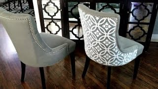 Enhancing Dining Chairs With Budget Friendly Update