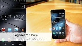 Gigaset ME pure - die verspätete Mittelklasse mit Android 5 im Test [Deutsch]