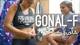 WE STARTED INJECTABLES THIS CYCLE!! || LETROZOLE & GONAL F