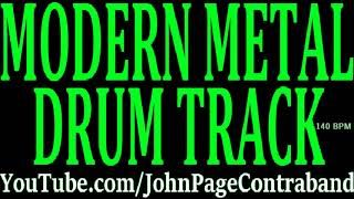 Modern Metal Drum Backing Track DRUMS ONLY