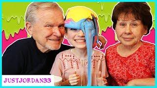 Making Slime With My Grandparents / JustJordan33