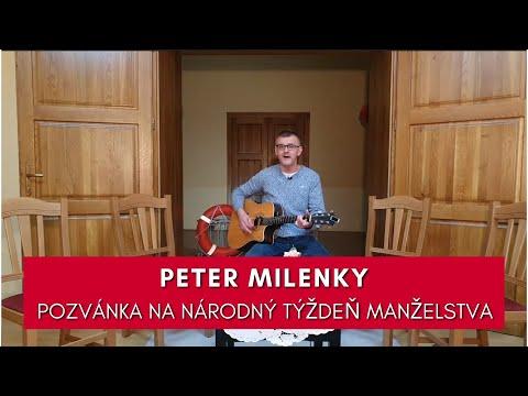 PETER MILENKY: POZVÁNKA NA NÁRODNÝ TÝŽDEŇ MANŽELSTVA